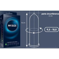 My.Size - condoms that adapt to the size of your penis - 7 Sizes