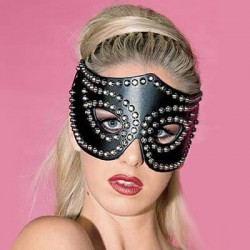 Studded Fetish Cat Mask