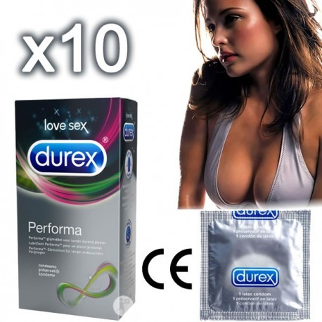 Durex Performa Delay Condoms - to delay ejaculation!