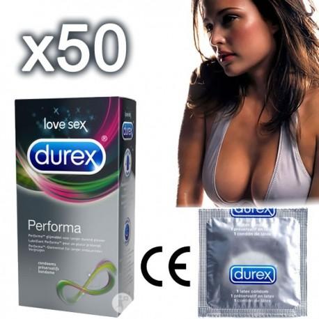 Durex Performa Delay Condoms - to delay ejaculation!