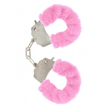 Naughty handcuffs - Pink fur