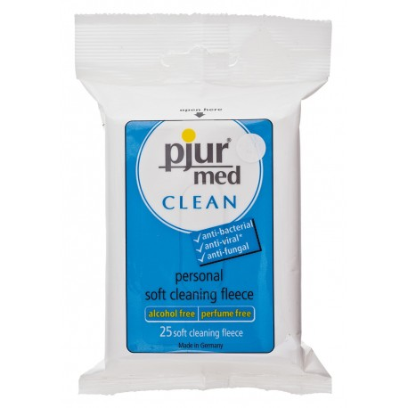 Pjur Med - 25 Alcohol-free Disinfectant Wipes