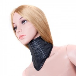 Head up position collar for BDSM submission