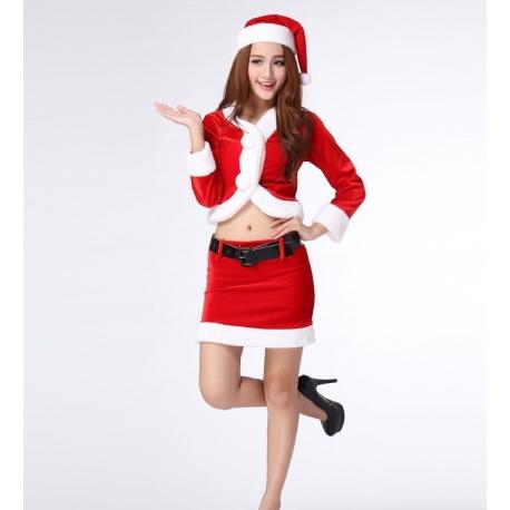 Christmas uniform costume - Sexy Mrs Santa Claus full suit