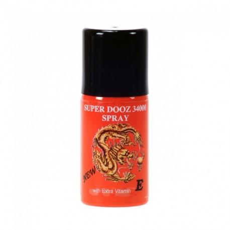 Super Dooz 34000 - Ejaculation delaying spray