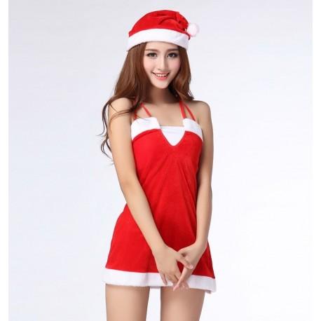 Christmas nightdress - Glamorous & Sexy - With hat