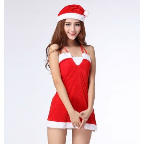Christmas nightdress - Glamorous & Sexy - With hat