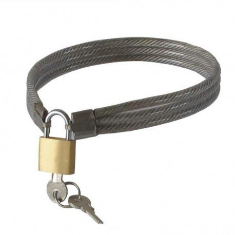 SM submission collar in woven metal cable