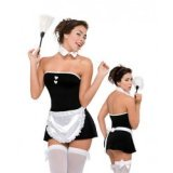 Trendy, Sexy French Maid Costume
