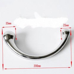 Metal dildo to stimulate the G spot