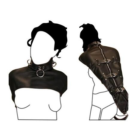 ArmBinder - Leather Bondage Arm Sheath