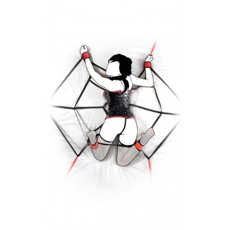 S&M Spiderweb Bed Restraint