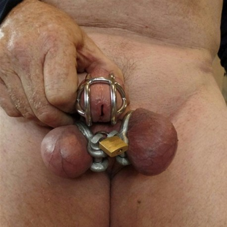 Locking rings for testicles - Rings of hell