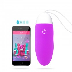 Oeuf vibrant sextoy controlé bluetooth + apps smartphone