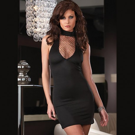 Evening Dress - Clubwear: Sexy Cleavage