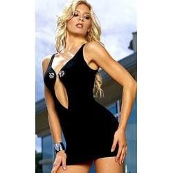 Party Dress, Clubwear: Breaktaking cleavage! Eye-catching!