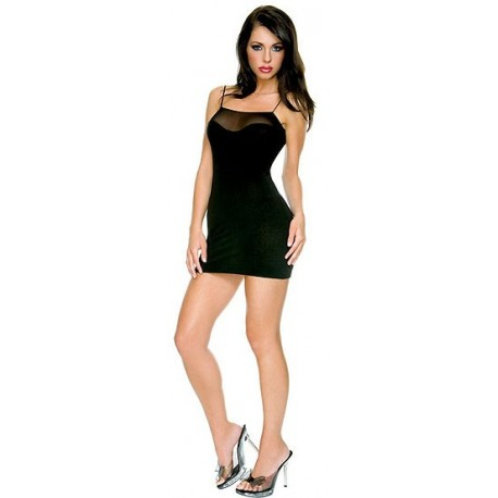 Evening Dress: Black Ramp: The classic