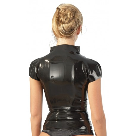 T shirt zipped bentwood women-100% Latex