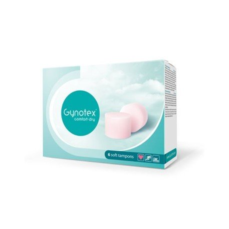 6 Gynotex Soft Tampons - for penetration even on your period