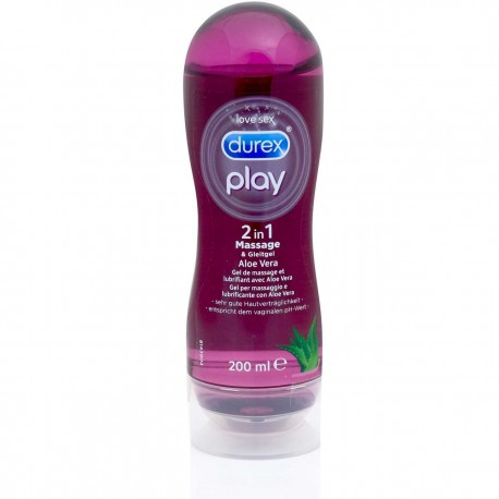 Durex play: lubricant care enriched with Aloe vera
