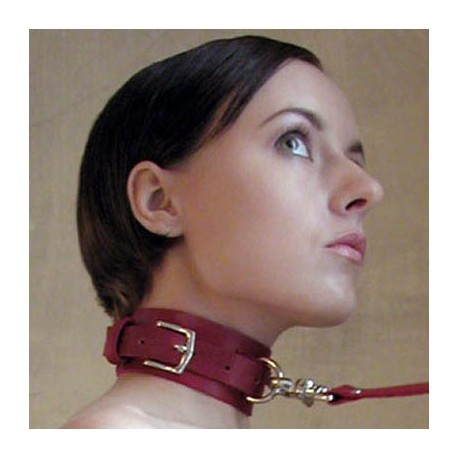 Essential Submission Domination Collar + Leash