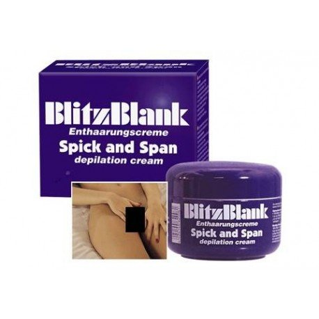 BLITZBLANK - hair removal cream for your bikini and intimate areas