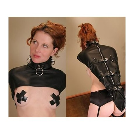 ArmBinder - Sheath Scabbard Arm - Soft Leather Bondage