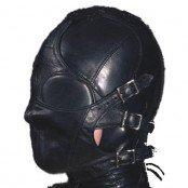 Hood with detachable S&M muzzle