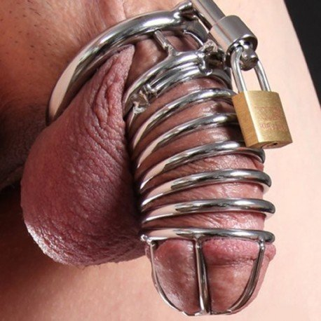 The Snake Chastity Cage for Men with Tubular Design