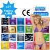 Mix pack of condoms - 25 sorts Durex & Pasante