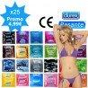 Mix pack of condoms - 25 sorts Durex & Pasante