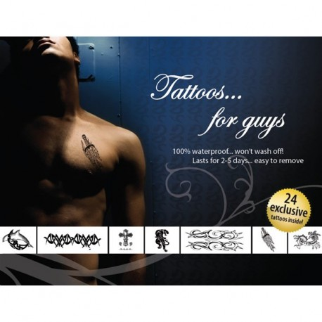 Sexy Temporary Tattoos for Men