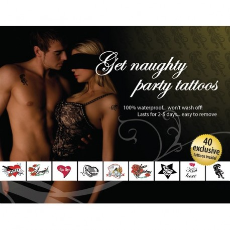 Assorted Sexy Tattoos for HOT parties!