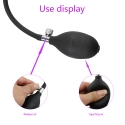 Plug anal silicone pour dilatation anale