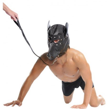 Submission Bondage Doggy Hood