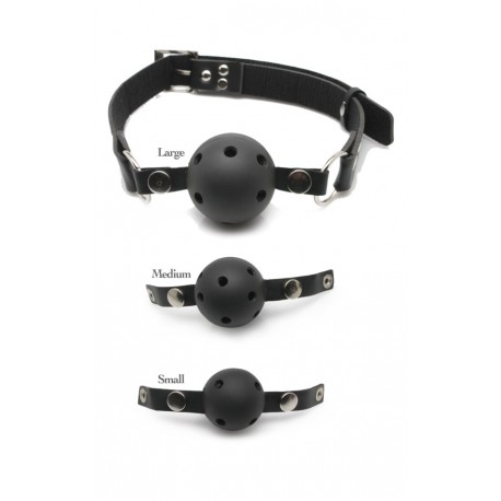 Kit Ball Gag - Gag: 3 different size