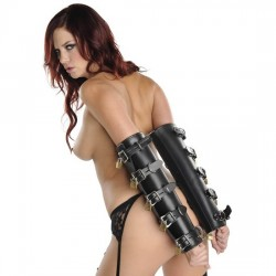 ArmBinder luxury - leather arm sheath cylindrical lock 10