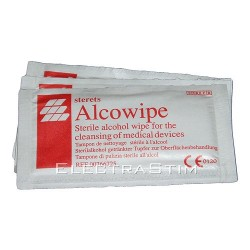Pack of 10 Disinfectant Alcohol Wipes