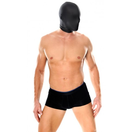 Full face spandex hood