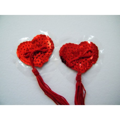 Cache-Teton - Nipper - Heart and pompom