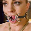 Spider Gag: Gag ring open mouth with legs