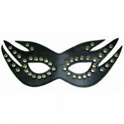 """Studded Fetish Mask - """"Cat Mask"""""""