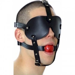 Ball Gag - Gag bondage mask