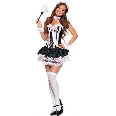 Corset Maid Costume Sexy