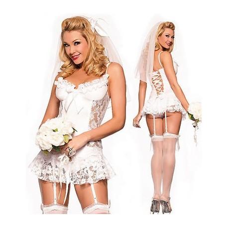 Corset wedding dress sexy