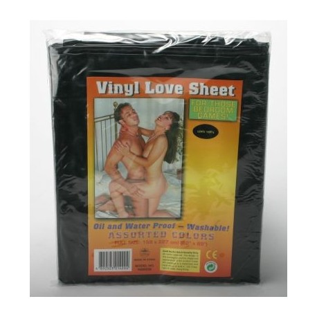 Protective vinyl sheet for sex games