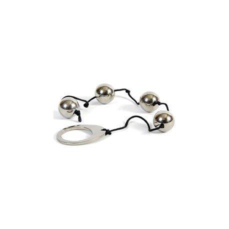 Rosary beads anal steel