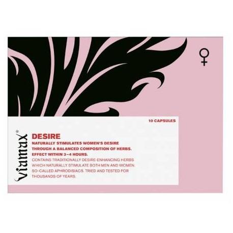 Viamax Desire - Aphrodisiac for Women