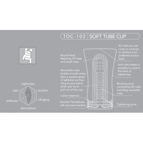 TENGA Soft Tube Standard Edition Onacups