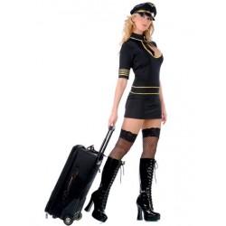 Costume sexy stewardess